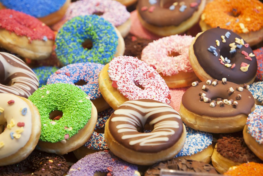 Various Types of Donuts
