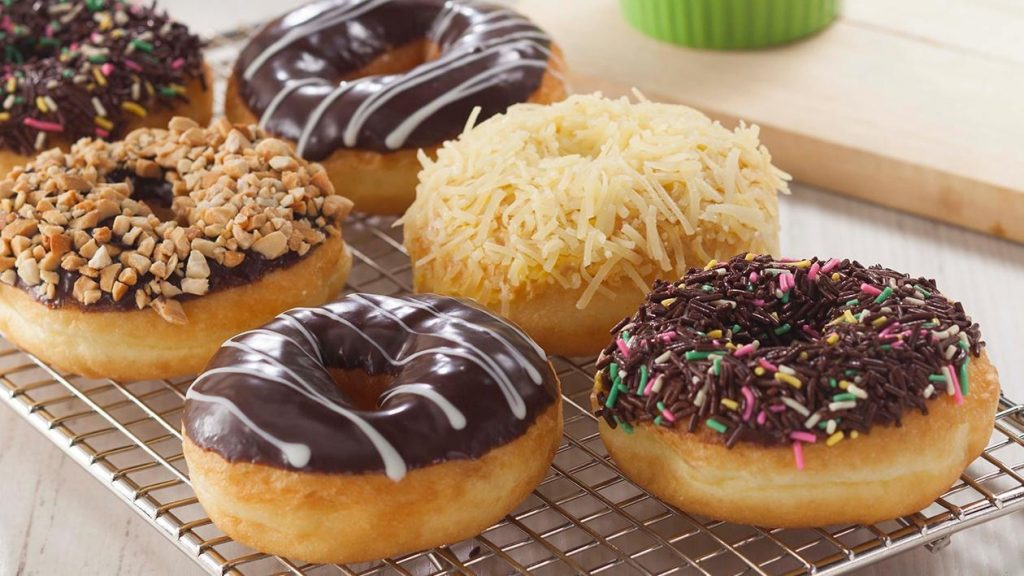 There Are Two Types Of Donuts Namely; Yeast And Cake